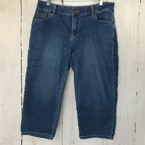 VENEZIA denim Bermuda shorts